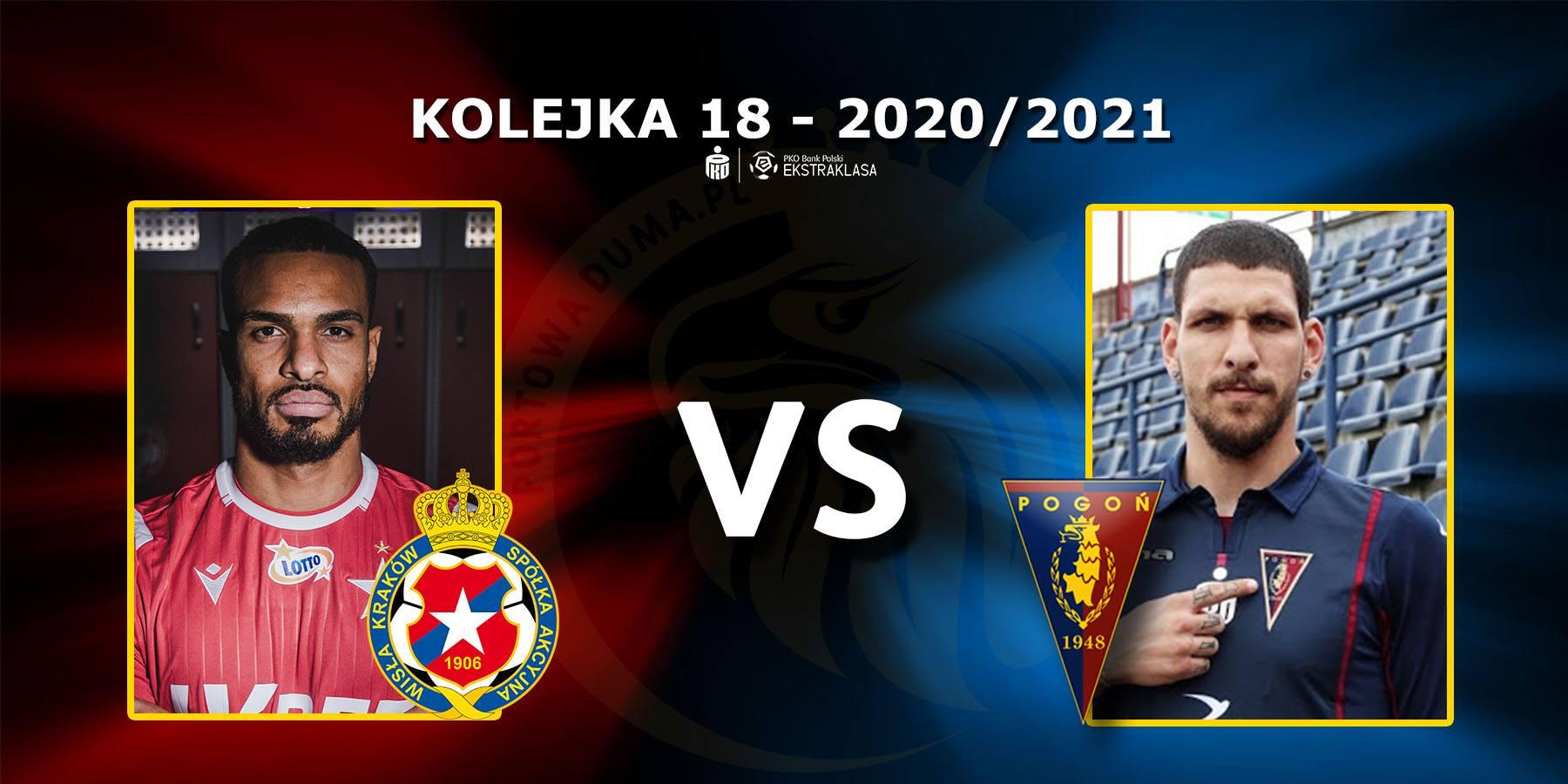 Wisła Kraków - Pogoń Szczecin. Pojedynek meczu: Felicio Brown Forbes vs Konstantinos Triantafyllopoulos.