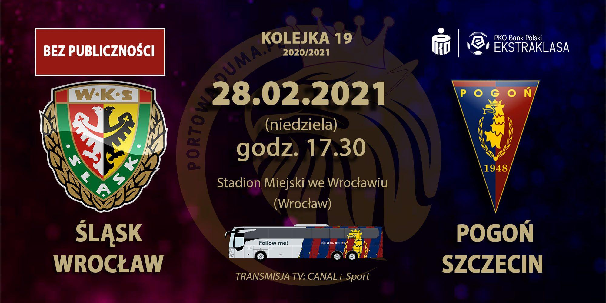 [Relacja zmeczu]: Śląsk Wrocław – Pogoń Szczecin.