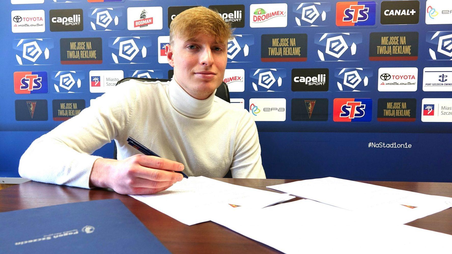 Kacper Zaborski z profesjonalnym kontraktem