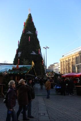 Weihnachtsmarkt auf dem Hansaplatz | Bildrechte: nickneuwald