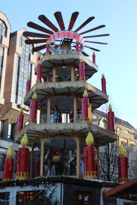 Weihnachtsmarkt auf der Hansastraße | Bildrechte: nickneuwald