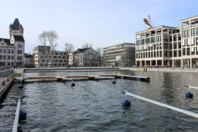 Hafenquartier im Februar 2014   Bildrechte: nickneuwald