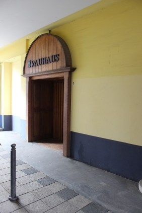 Eingang ehemaliges Braushaus   Bildrechte: nickneuwald