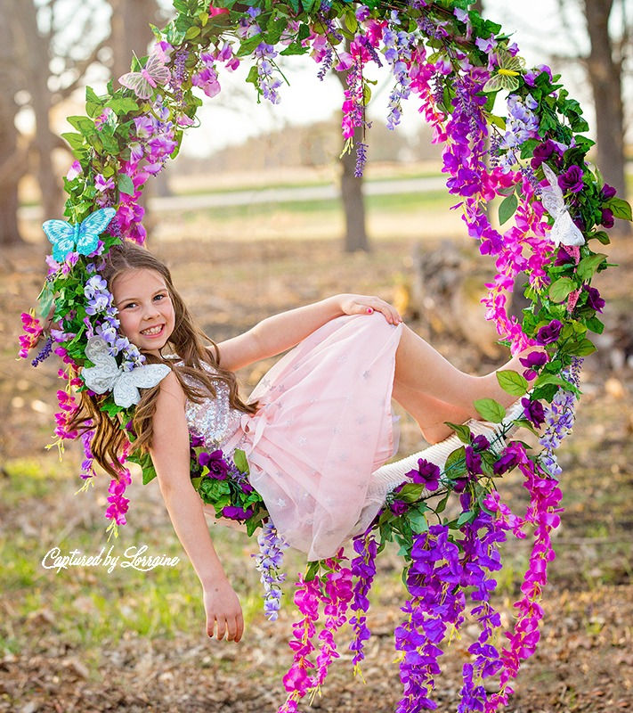 Flower Swing Photo session