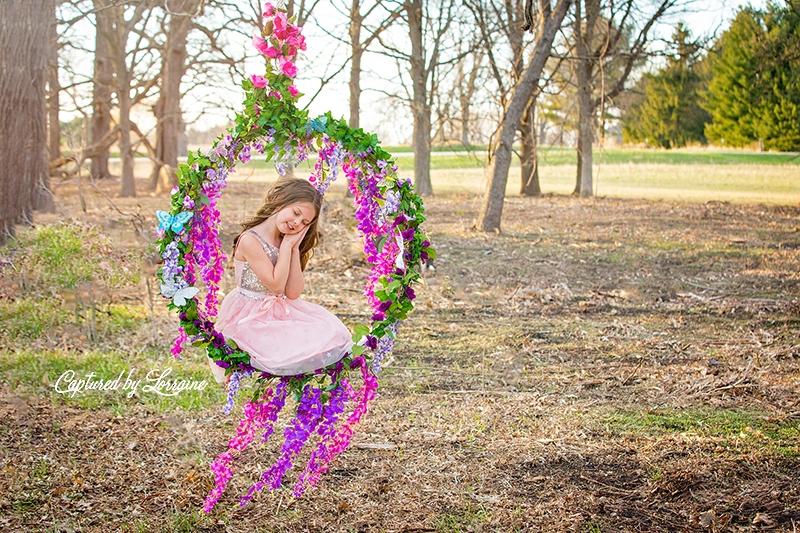 7 Flower Swing Photo session