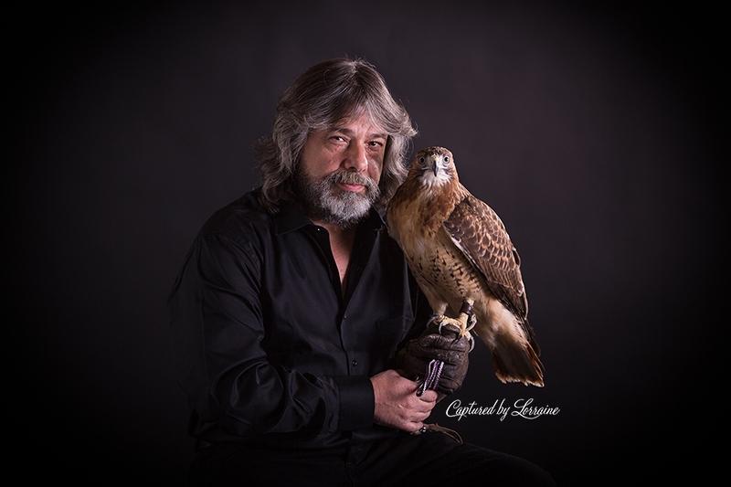 Falconer redtailed hawk (7)