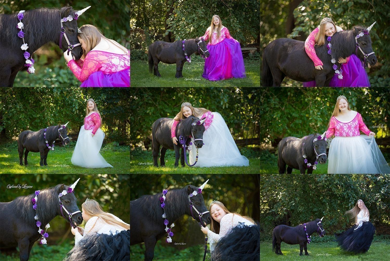 Special Needs Unicorn Photo Session-Hampshire Illinois