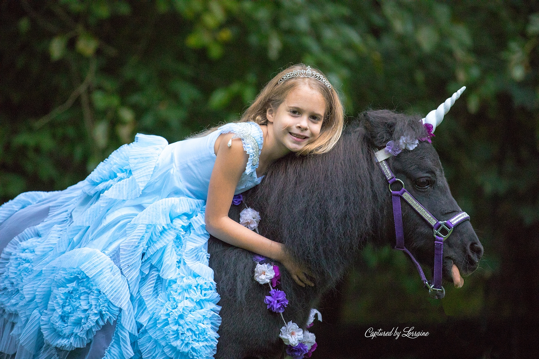 Unicorn Photo Session Elgin Illinois