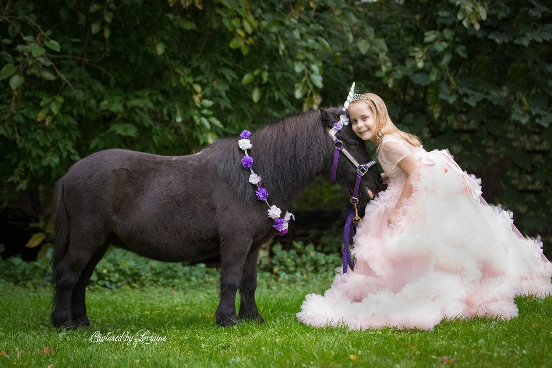 Unicorn Photo Session St Charles Illinois