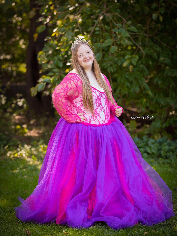 down syndrome Princess Photos Illinois (3)