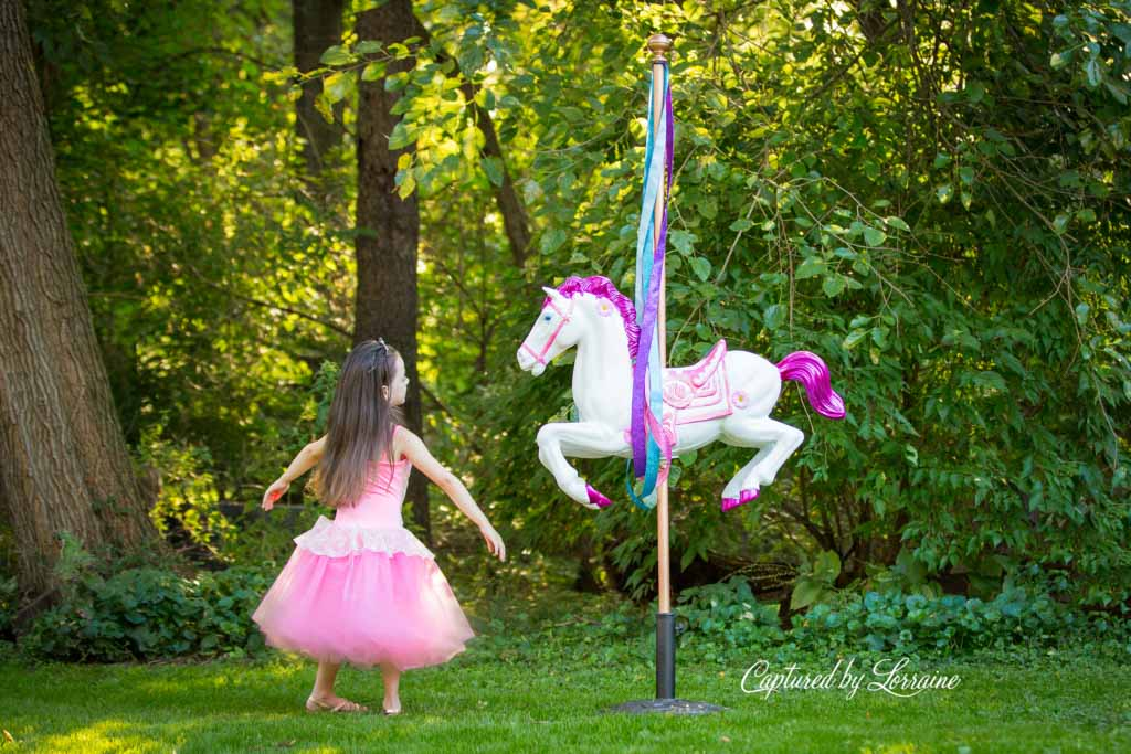 New Carousel Horse Photo Prop