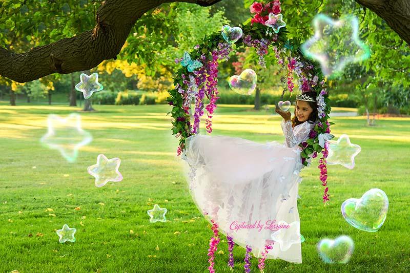Princess-Photos-Illinois-Flwoer-Swing