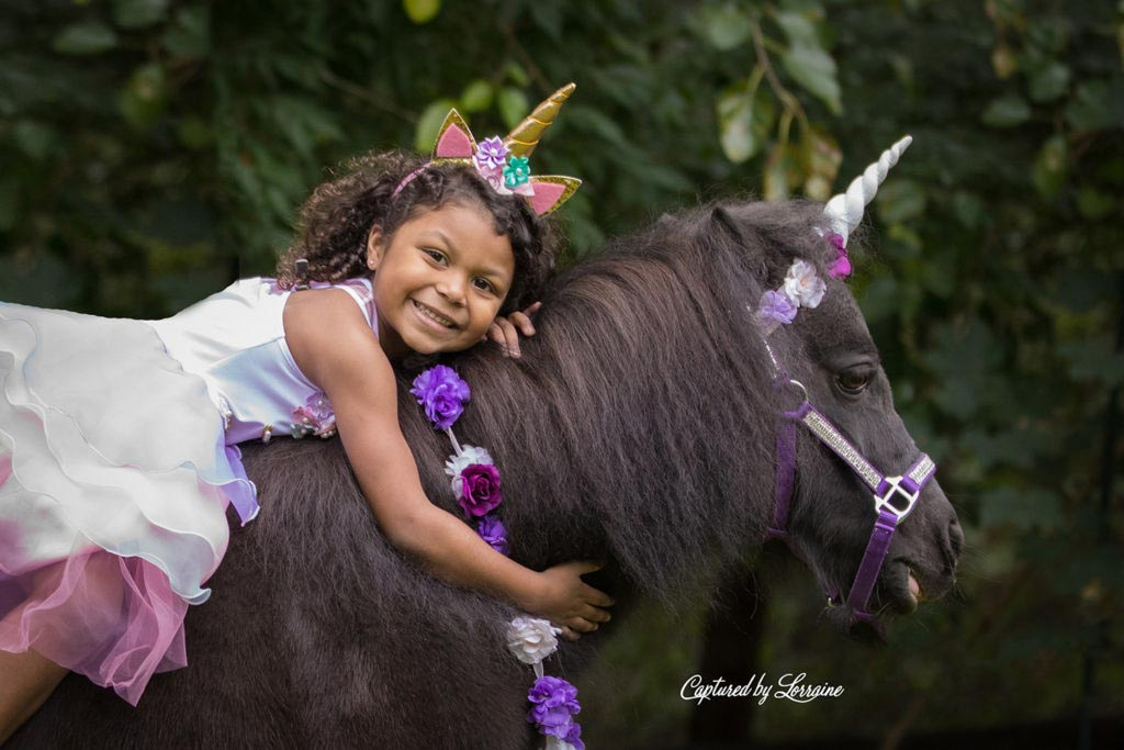 Unicorn Photo Session-Huntley Illinois