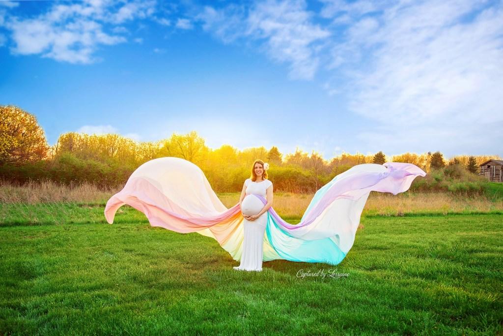 Rainbow baby maternity