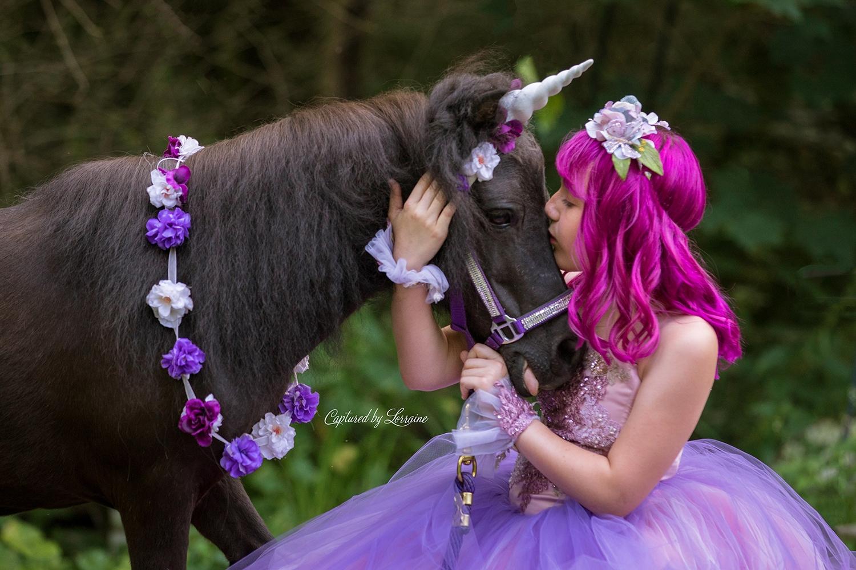 Unicorn Photo shoot Crystal Lake Illinois