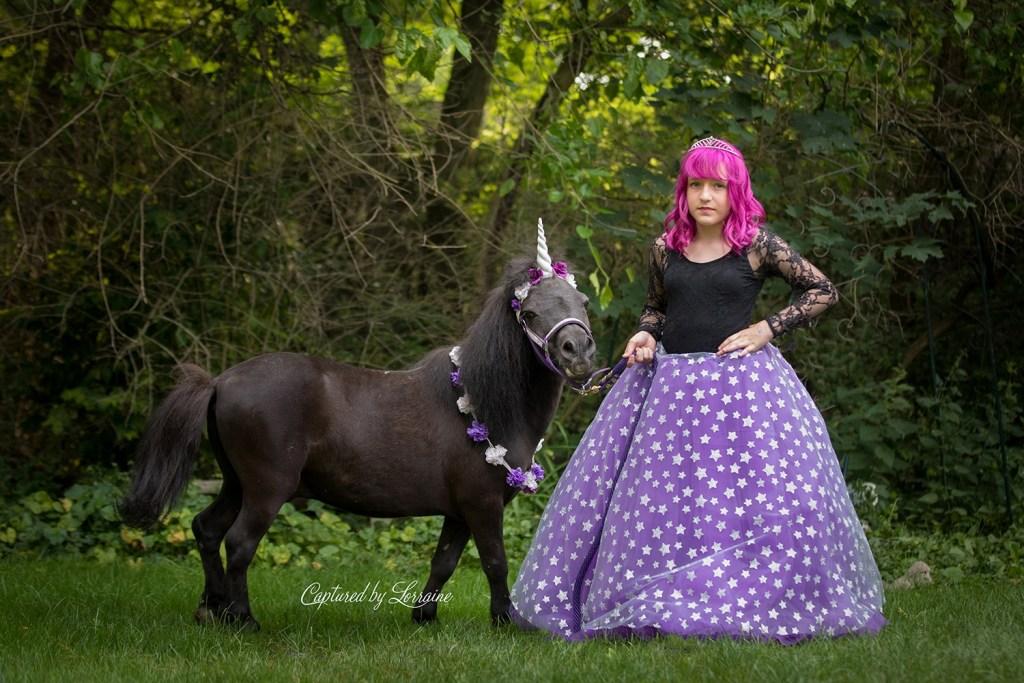 Unicorn Photo shoot Geneva Illinois