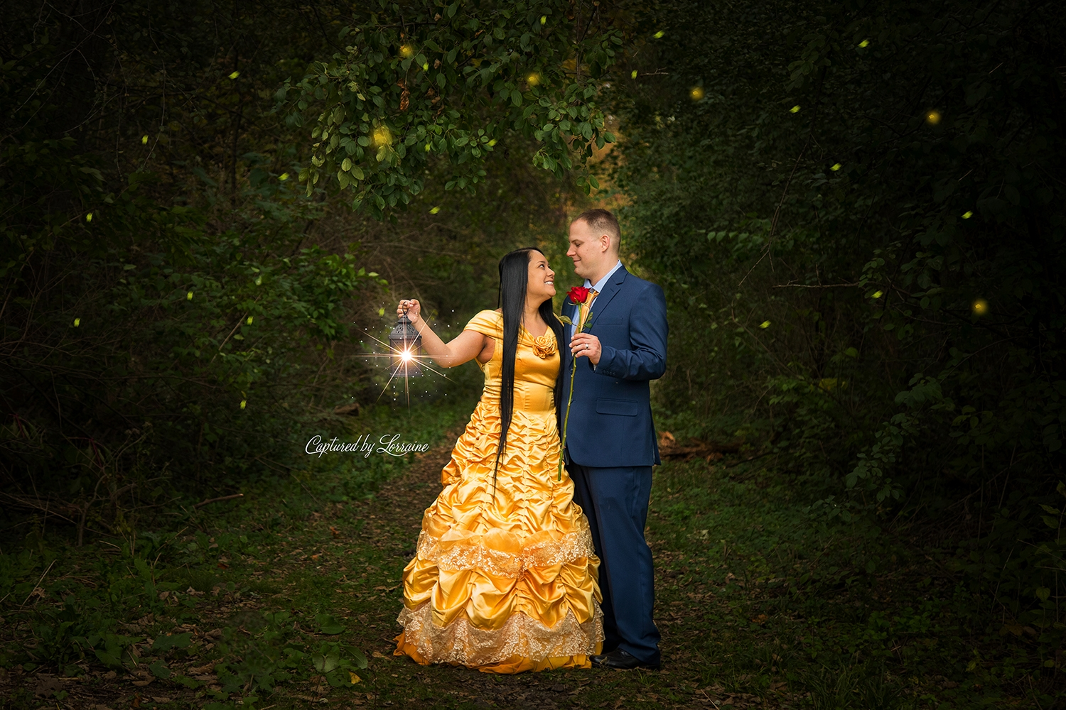 Beauty and the Beast Photoshoot St Charles Illinois