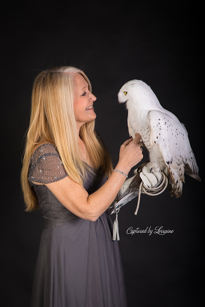 Falconer with Snowy Owl (3)