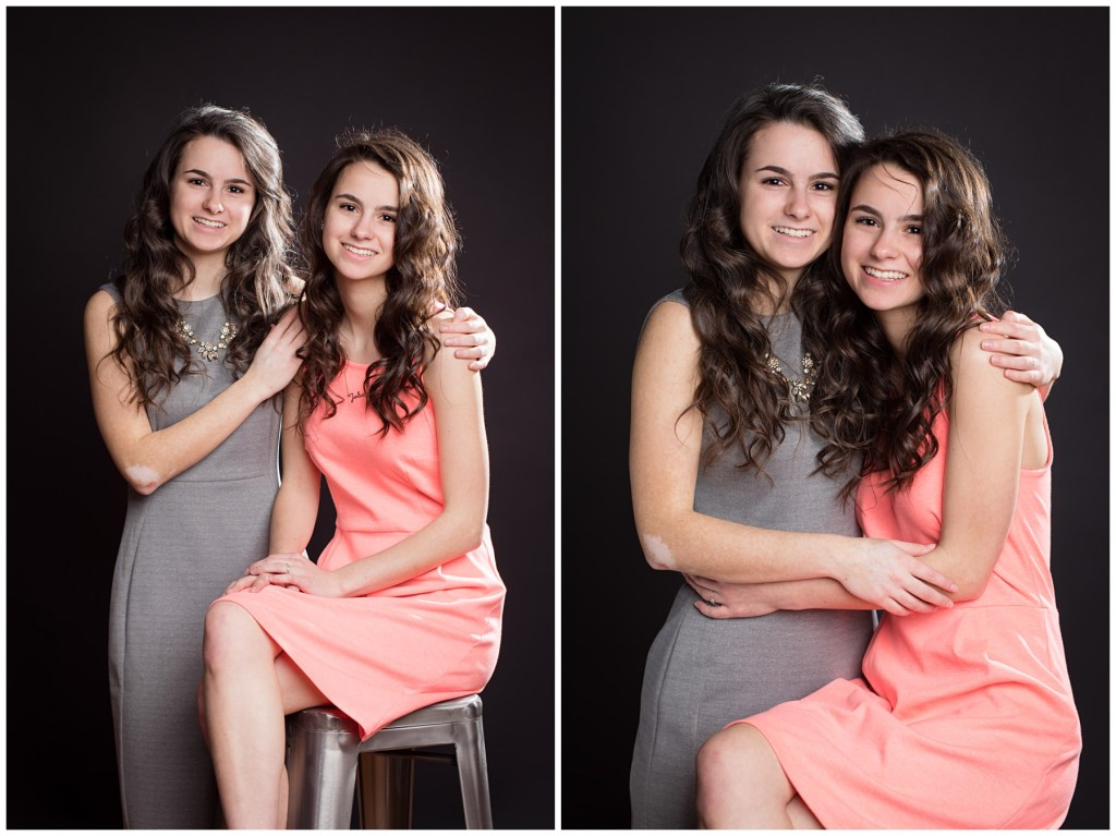 twins in berks county photo studio