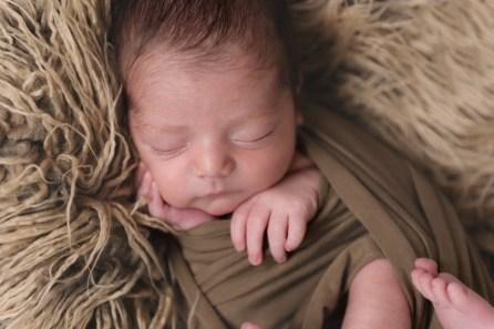 perfect baby boy sleeping
