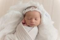 baby girl in neutral