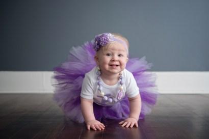 purple tutu birthday girl