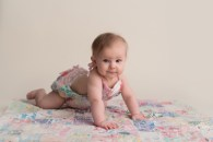 quilted romper crawling