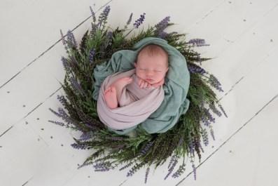 baby girl purple easter wreath