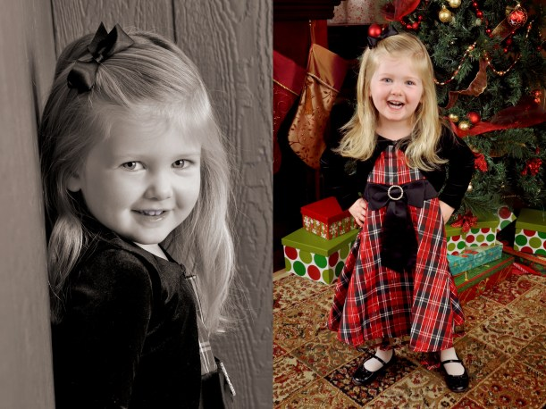 Holiday Cards Portrait Simple Blog