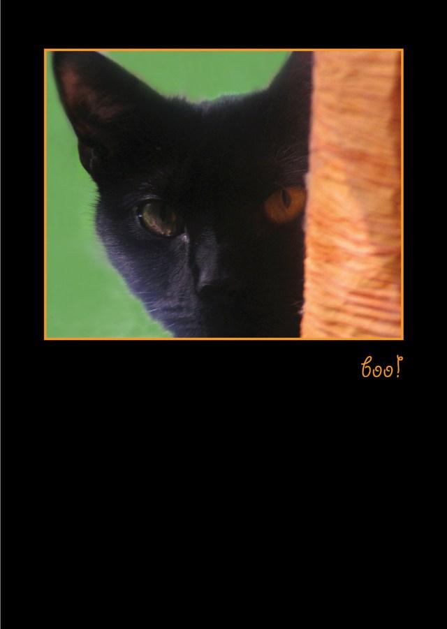 Boo! Lucy Halloween Card