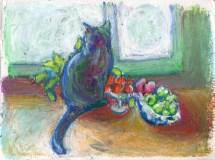 011014-CatWithFruit