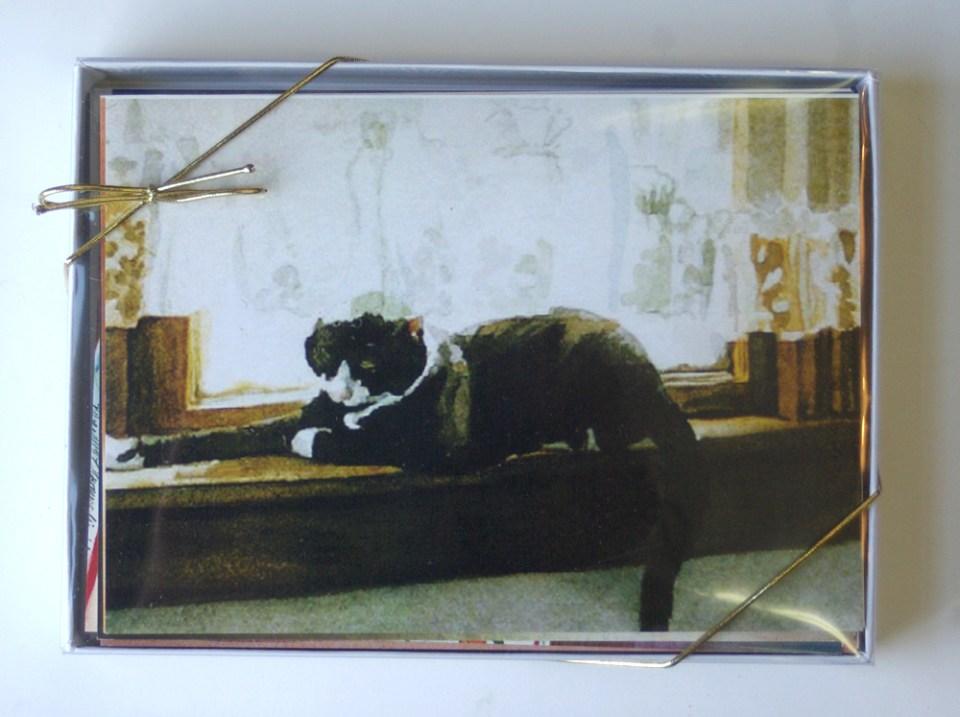 Feline Fine Art Cards.