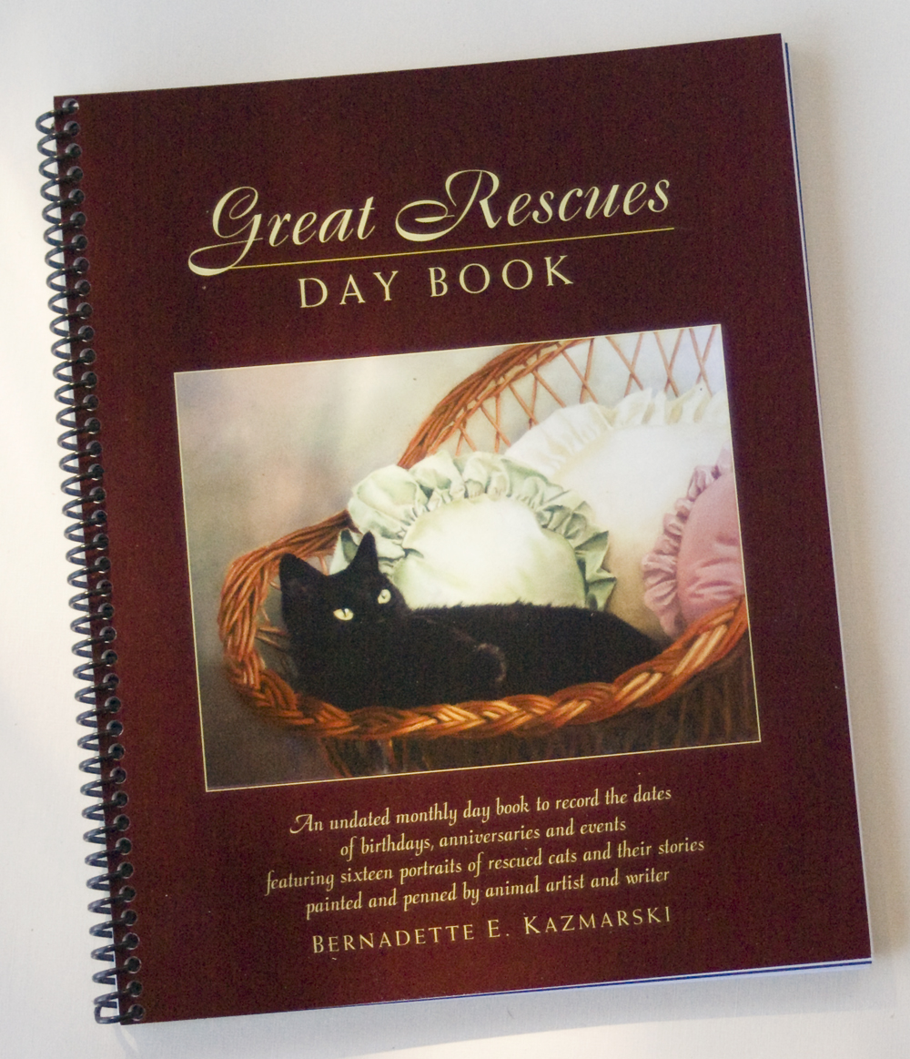 """Resolve to Keep Dates and Events Organized With """"Great Rescues Day Book"""""""