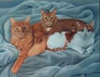 Amaretto, Simon and Merlin