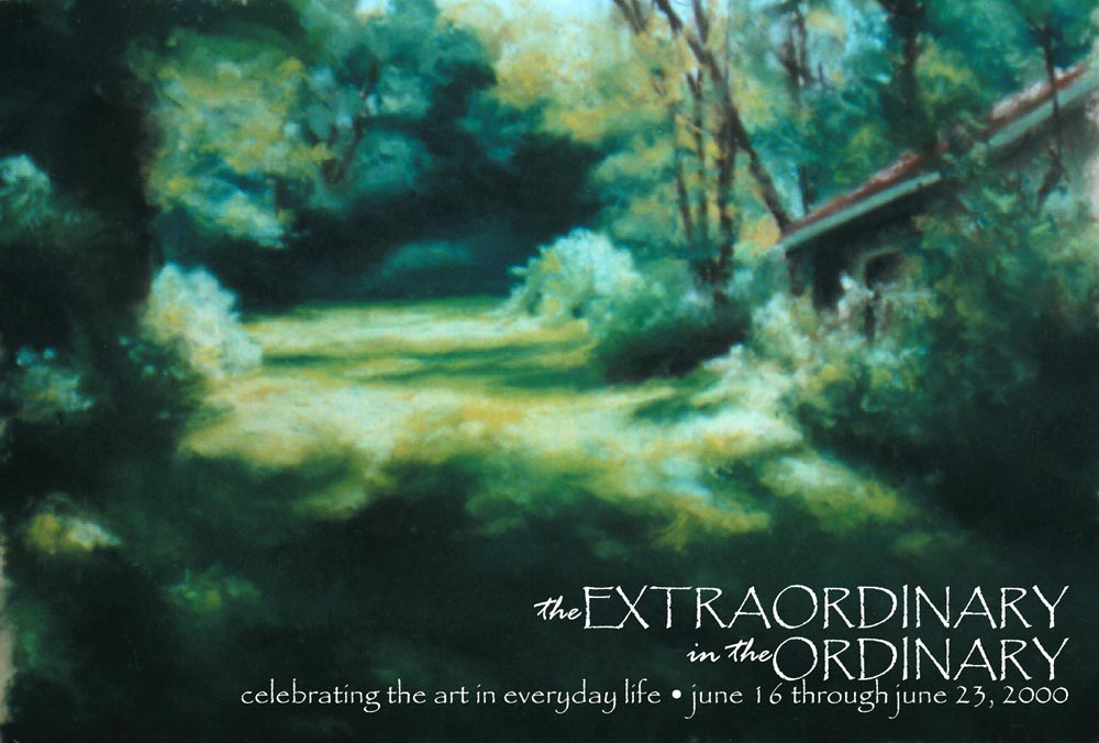 The Extraordinary in the Ordinary: My First Solo Exhibit, 2000