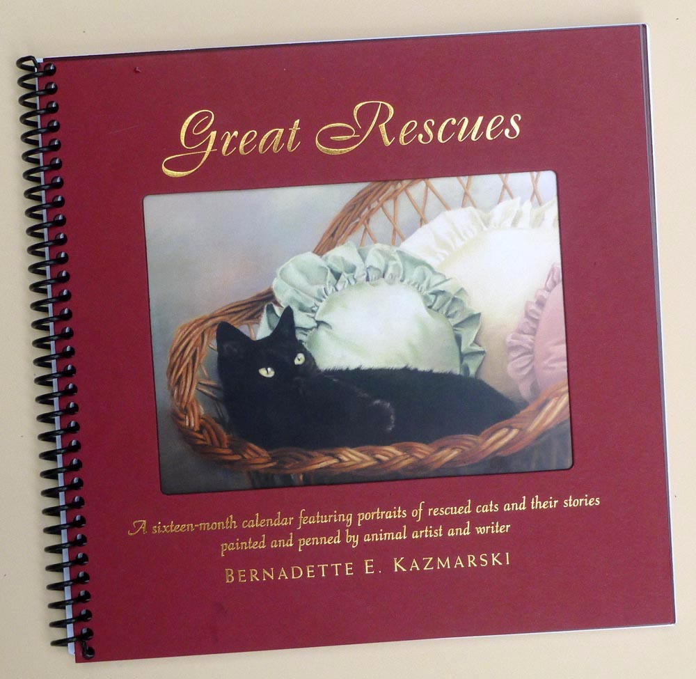 The cover of the original Great Rescues Calendar and Gift Book