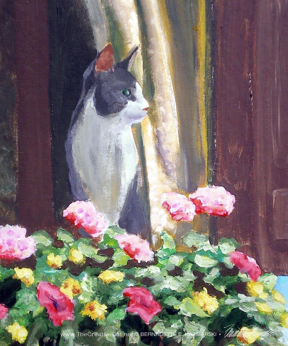 acrylic artist's paint; NamirAtTheWindow-crop-1000px