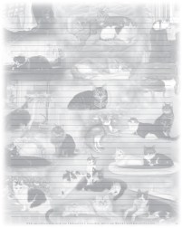 22 Cats Notepaper