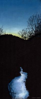 Winter Sunset Reflections
