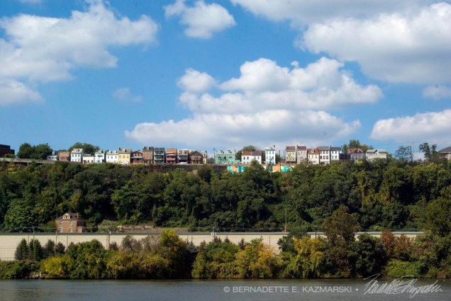 Pittsburgh, Troy Hill above the Allegheny River, Photo