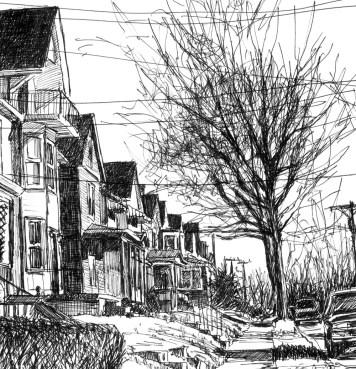 Detail of sketch.