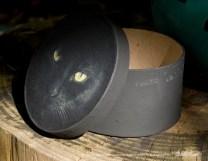 "Keepsake Box, ""The Eye Model"", side view"