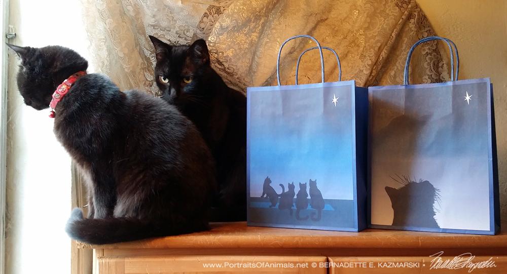 Star of Wonder, Star of Kittens Gift Bags
