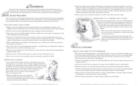 Great Rescues Day Book cat resources pages.
