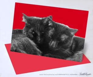 Nuzzles and Purrs Valentine.