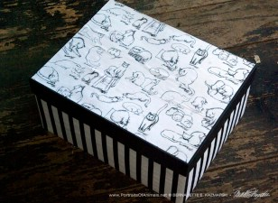 Brushy Kitties keepsake box