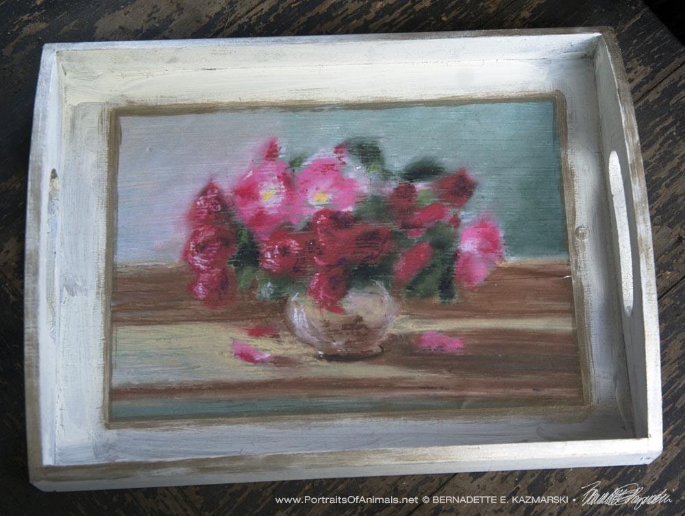 Small Roses tray.