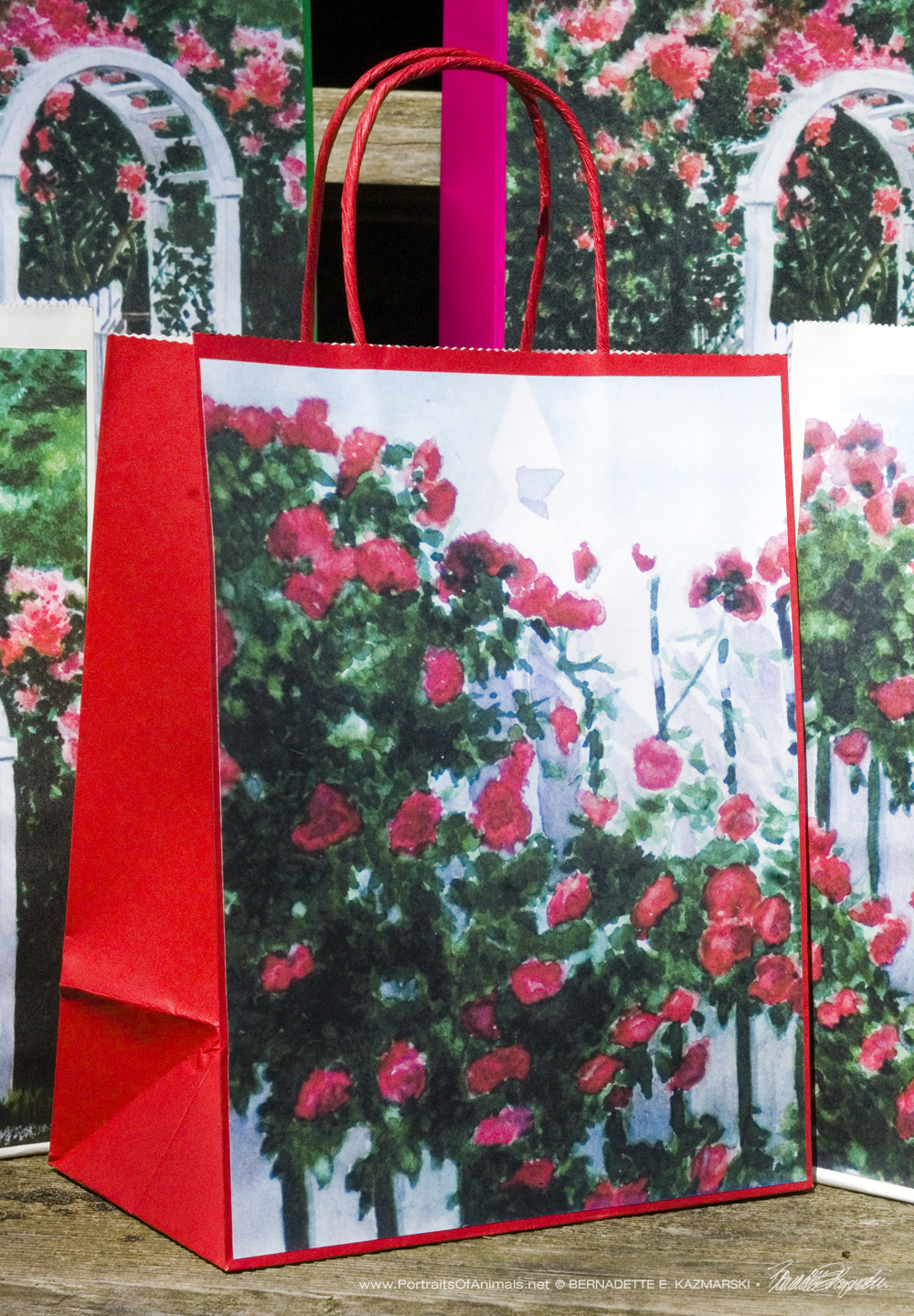 Red Climbers Gift Bag, Red