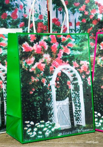 The Garden Gate Gift Bag, Green