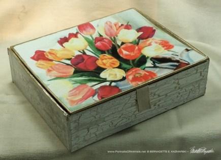 Tea for Tulips Keepsake